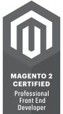 Magento 2 Certified Professional Front-End Developer
